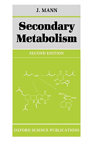 9780198555292: Secondary Metabolism (Oxford Chemistry Series)