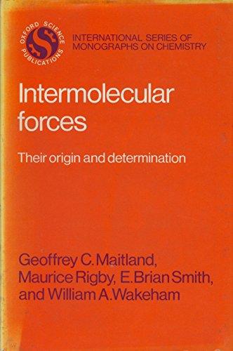 Intermolecular Forces: Geoffrey Maitland
