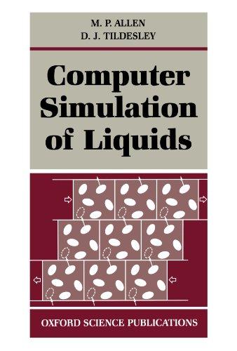 9780198556459: Computer Simulation of Liquids (Oxford Science Publications)