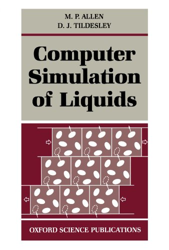 9780198556459: Computer Simulation of Liquids (Oxford Science Publications)