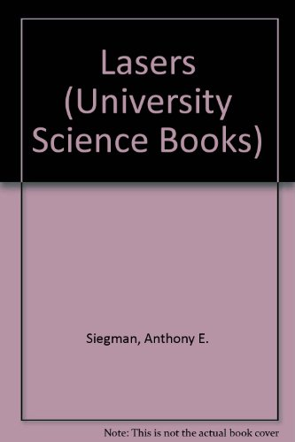 9780198557135: Lasers (University Science Books)
