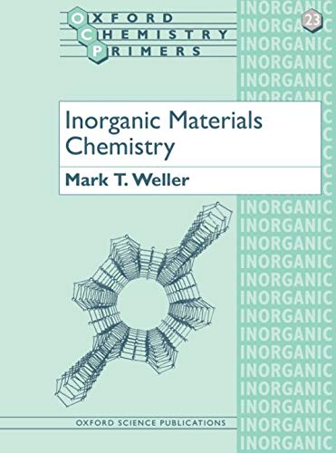 9780198557982: Inorganic Materials Chemistry (Oxford Chemistry Primers)