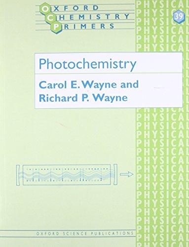 9780198558866: Photochemistry