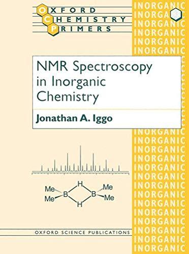 9780198558903: NMR Spectroscopy in Inorganic Chemistry (Oxford Chemistry Primers)