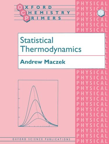 9780198559115: Statistical Thermodynamics (Oxford Chemistry Primers)
