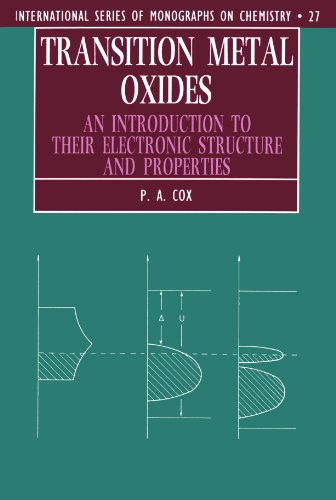 9780198559252: Transition Metal Oxides: An Introduction to their Electronic Structure and Properties (International Series of Monographs on Chemistry)