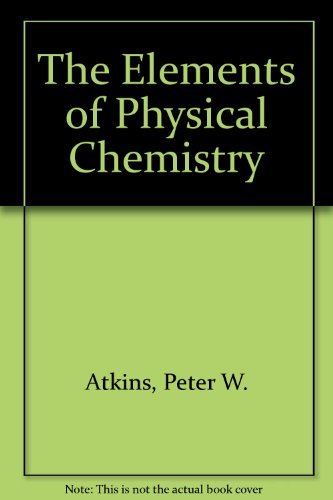9780198559542: The Elements of Physical Chemistry