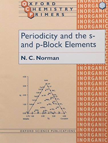 Periodicity and the s- and p-Block Elements: Nicholas C. Norman