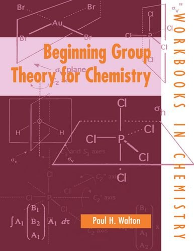 9780198559641: Beginning Group Theory for Chemistry