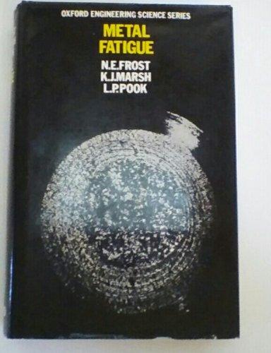 Metal Fatigue (Engineering Science): Frost, Norman Edward