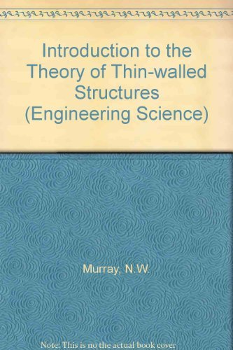 9780198561514: Introduction to the Theory of Thin-Walled Structures