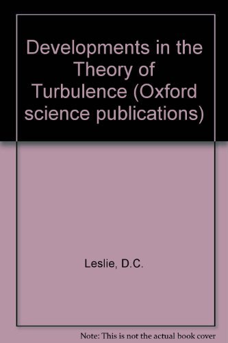 9780198561613: Developments in the Theory of Turbulence