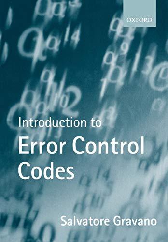 Introduction to Error Control Codes: Salvatore Gravano