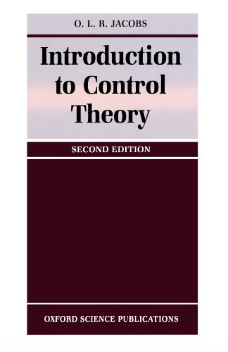 9780198562498: Introduction to Control Theory