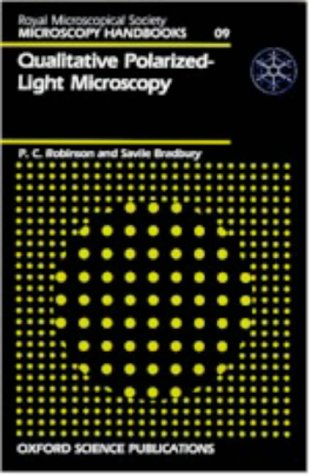 9780198564102: Qualitative Polarized Light Microscopy (Microscopy Handbooks 09)