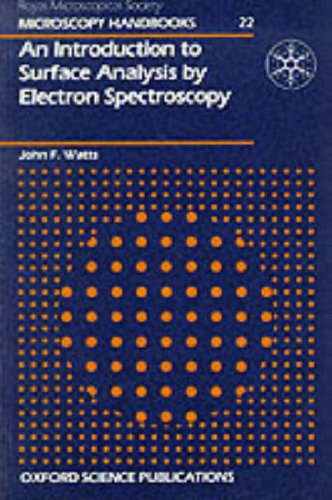 9780198564256: An Introduction to Surface Analysis by Electron Spectroscopy (Royal Microscopical Society Microscopy Handbooks)