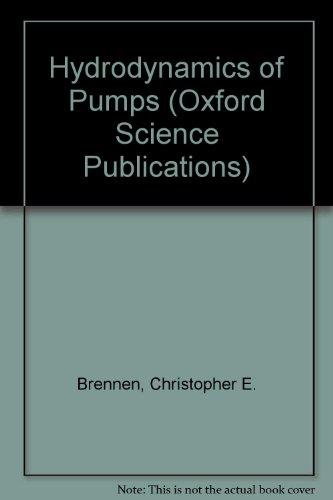 9780198564423: Hydrodynamics of Pumps (A Concepts ETI Book)