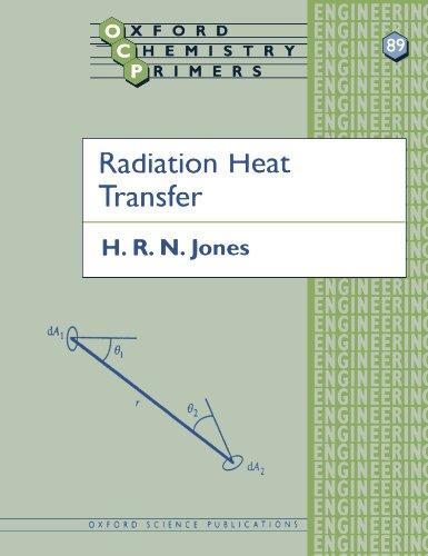 9780198564553: Radiation Heat Transfer (Oxford Chemistry Primers)