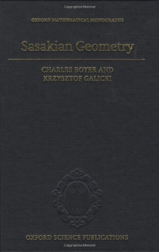 9780198564959: Sasakian Geometry (Oxford Mathematical Monographs)