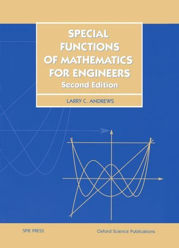 9780198565581: Special Functions of Mathematics for Engineers