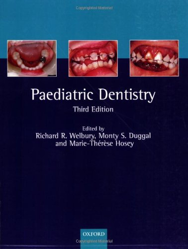9780198565833: Paediatric Dentistry (Oxford Medical Publications)