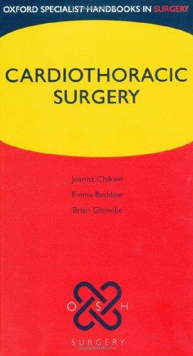 9780198565888: Cardiothoracic Surgery