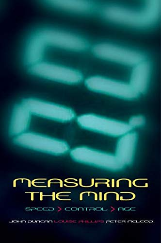 9780198566410: Measuring the Mind: Speed, Control, and Age