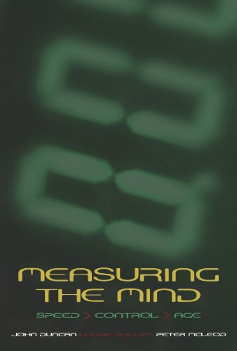 9780198566427: Measuring the Mind: Speed, Control, and Age