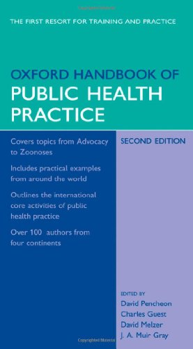 9780198566557: Oxford Handbook of Public Health Practice (Oxford Medical Handbooks)