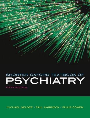 9780198566670: Shorter Oxford Textbook of Psychiatry