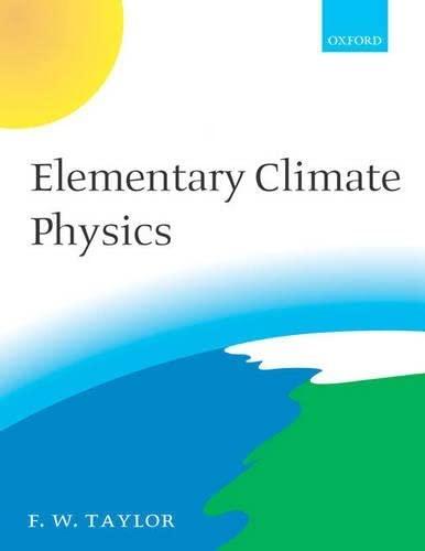 9780198567332: Elementary Climate Physics