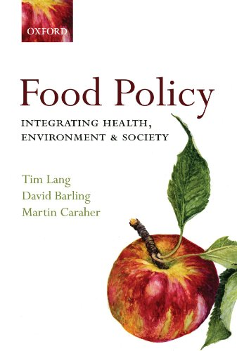 9780198567882: Food Policy: Integrating health, environment and society