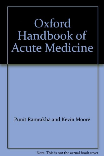 9780198567998: OXFORD HANDBOOK OF ACUTE MEDICINE.