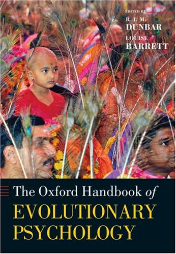9780198568308: Oxford Handbook of Evolutionary Psychology (Oxford Library of Psychology)