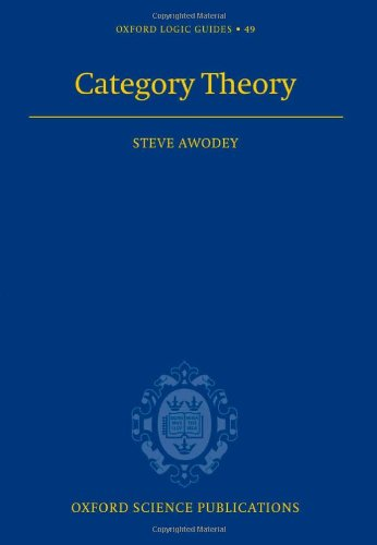 9780198568612: Category Theory (Oxford Logic Guides)