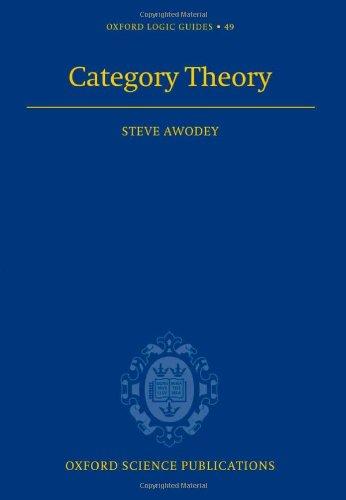9780198568612: Category Theory