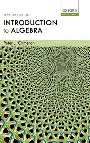 9780198569138: Introduction to Algebra