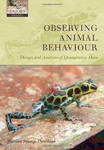 9780198569350: Observing Animal Behaviour: Design and Analysis of Quantitive Controls