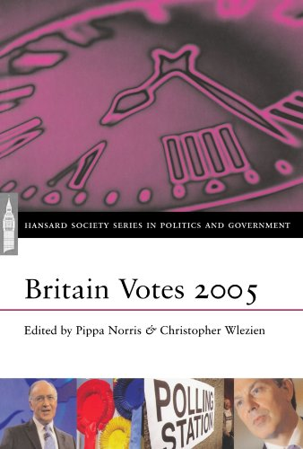 9780198569404: Britain Votes 2005 (Hansard Society Series in Politics and Government)