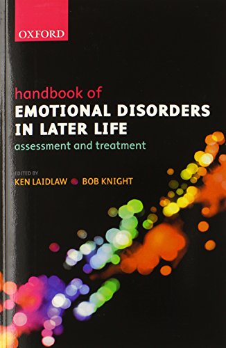 9780198569459: Handbook of Emotional Disorders in Later Life: Assessment and Treatment