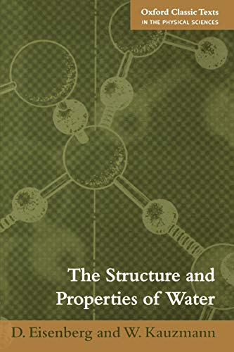 9780198570264: The Structure and Properties of Water