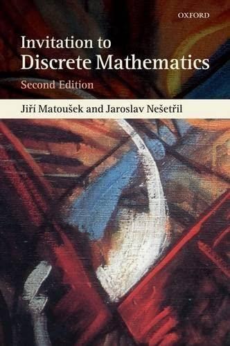 9780198570431: An Invitation to Discrete Mathematics