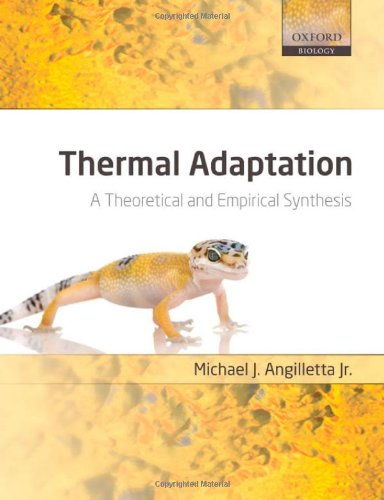 9780198570875: Thermal Adaptation: A Theoretical and Empirical Synthesis (Oxford Biology)