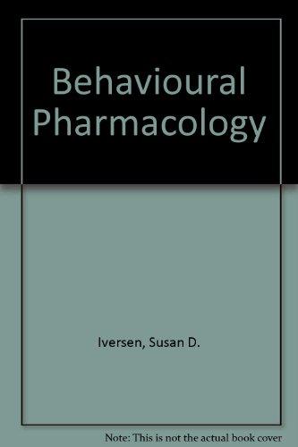 9780198571285: Behavioural Pharmacology