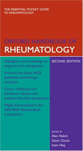 9780198571353: Oxford Handbook of Rheumatology (Oxford Medical Handbooks)