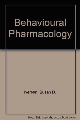 9780198571629: Behavioural Pharmacology