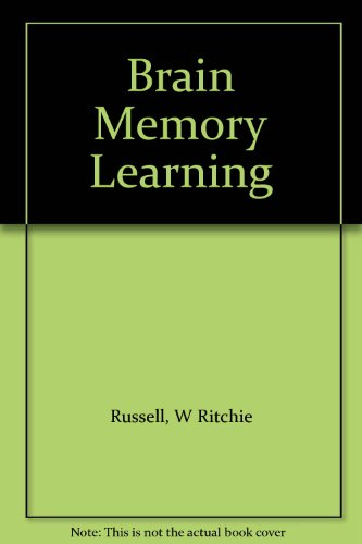 9780198573241: Brain Memory Learning