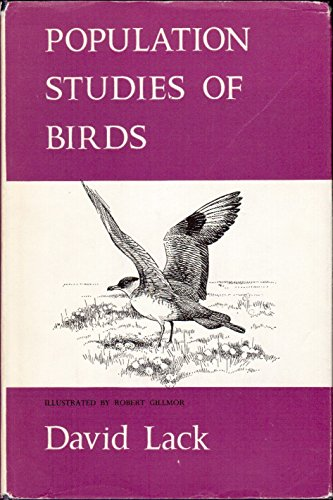 Population Studies of Birds.: David Lack.