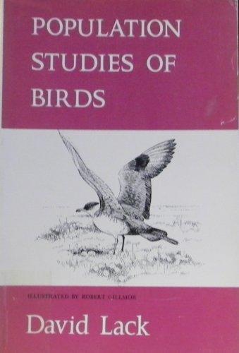 9780198573418: Population Studies of Birds