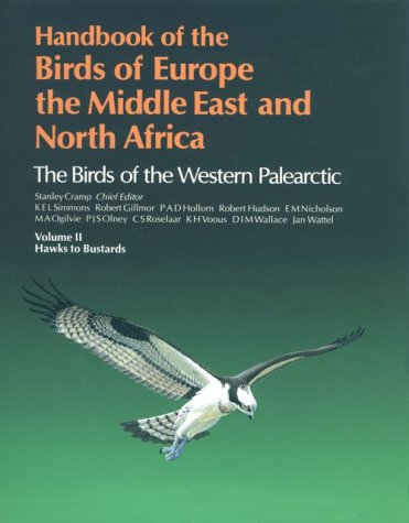 9780198575054: Handbook of the Birds of Europe, the Middle East and North Africa: The Birds of the Western Paleartic, Vol. 2: Hawks to Bustards